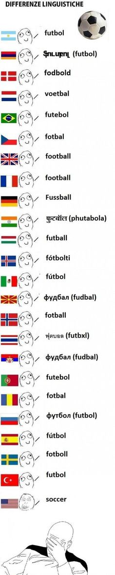 I don't even like soccer but this is funny!!! We Americans are so irrelevant