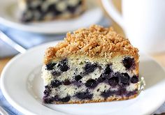 The Galley Gourmet: Blueberry Buckle