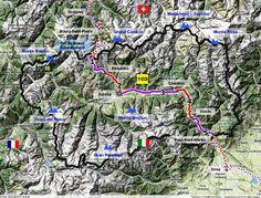 Valle d'Aosta - La Via Francigena in Valle d'Aosta si snoda tra borghi antichi e splendidi castelli, suggestive chiese e vestigia d'epoca romana, tra vigneti e pascoli sempre circondati dal profilo delle Alpi. Ha inizio al Colle del Gran San Bernardo, a 2.450 m slm, e procede fino a Pont-Saint-Martin.