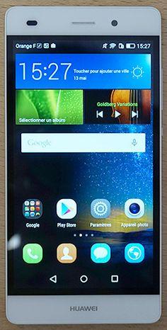 Test Huawei P8 Lite lightweight version P8 Lite, Smartphone, Android