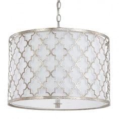 Buy the Capital Lighting Antique Silver Direct. Shop for the Capital Lighting Antique Silver Ellis Convertible 3 Light Wide Drum Chandelier / Semi-Flush Ceiling Fixture and save. 3 Light Pendant, Drum Pendant, Pendant Lighting, Lantern Pendant, Ceiling Fixtures, Light Fixtures, Ceiling Lights, Light Fittings, Room Lights