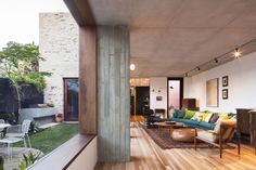 awesome Courtyard House by Aileen Sage Architects