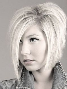 inverted bob with layers
