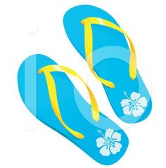 freeclip art flip flop   ... Free Flip Flop Border Clip ...