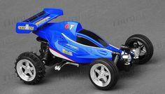 GW Toys 1:43 Scale Sprint 2.4ghz Radio Control Car (Blue)