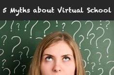 """""""5 Myths about Virtual Schools"""" on Virtual Learning Connections http://www.connectionsacademy.com/blog/posts/2011-07-18/5-Myths-about-Virtual-Schools.aspx"""