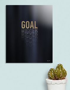 «Goal Digger - Black and Gold», Numbered Edition Acrylic Glass Print by Dominique Vari - From $75 - Curioos    «Goal Digger - Black and Gold», Numbered Edition Art Print by Dominique Vari - From $19 - Curioos    #typography #words #doubletake #parody #minimal #black #goldglitter #buyart #homedecor #DominiqueVari #Curioos