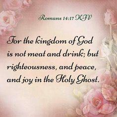 Romans 14:17 KJV