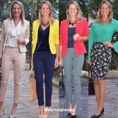 Look de trabalho - look do dia - look corporativo - moda no trabalho - work outfit - office outfit - spring outfit - look executiva - fall outfit - look colorido - blazer colorido -