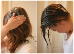 Coconut Oil Hair Treatment~I do it on my daughter. :-)