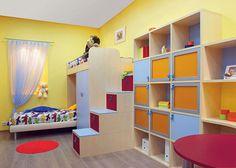 Creative storage for children's bedrooms