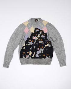 honey-kennedy-pretty-snake-cat-sweater
