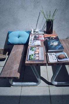 THORS Omega Outdoor dining set in reclaimed wood