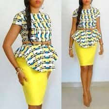 8 peplum african kitenge blouses 2017 - style you 7 African Print Dresses, African Print Fashion, Africa Fashion, African Inspired Fashion, African Fashion Dresses, African Dress, Fashion Prints, Ghanaian Fashion, African Prints