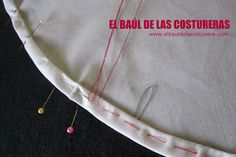 Cómo coser un ruedo curvo, con acabado profesional Sewing, Crafts, Textiles, Craft Ideas, Fashion, Couture Facile, Sewing Hacks, How To Sew, Girls Dresses