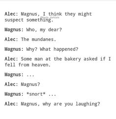 Für die Liebe von Melek / Malec - H. Mortal Instruments Funny, Immortal Instruments, Shadowhunters The Mortal Instruments, Shadowhunters Malec, Shadow Hunters Cast, Why Are You Laughing, Magnus And Alec, Cassie Clare, Cassandra Clare Books