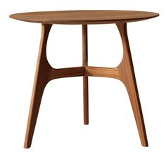 This round table has a mid-century appeal, thanks to the three-legged base. It is entirely made in solid Canaletto walnut wood and it can be finished with natural oil or with natural grey oil. Round Wood Coffee Table, Coffee Table Legs, Walnut Coffee Table, Dining Table Legs, Walnut Table, Walnut Wood, Walnut Furniture, Table Furniture, Modern Furniture