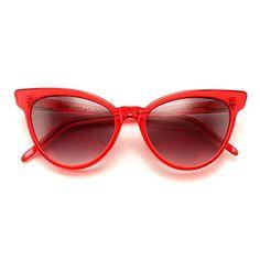 Wildfox La Femme Sunglasses in Red at Maverick Western Wear