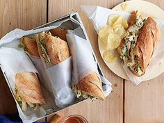 Roast Chicken Salad Sandwiches from #FNMag