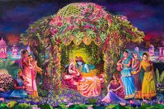 Original Love Painting by Prema Russo Radha Krishna Songs, Radha Krishna Photo, Krishna Art, Radhe Krishna Wallpapers, Lord Krishna Wallpapers, Lord Krishna Images, Radha Krishna Pictures, Shiva Art, Hindu Art