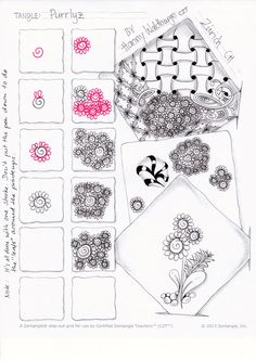 1000 images about zentangle worksheets on pinterest zentangle patterns tangle patterns and. Black Bedroom Furniture Sets. Home Design Ideas