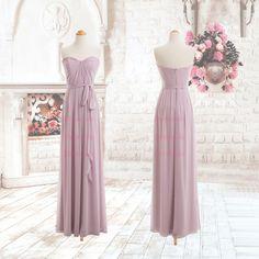 New Designer!!!Sweetheart Thin Belt Chiffon Floor Length Prom Dresses/Beautiful Long Prom Dresses/Custom Colour/Custom Szie