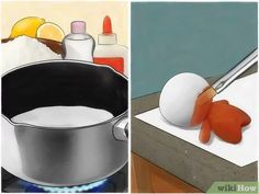 How to Make Homemade Polymer Clay Substitute. Are you tired of running to the craft store for expensive polymer clay? This wikiHow will show you how to make your own polymer clay substitute. Keep in mind, however, that these homemade clays. Homemade Polymer Clay, Polymer Clay Recipe, Polymer Clay Crafts, Diy Clay, Porcelain Clay, Ceramic Clay, Cold Porcelain, How To Make Clay, How To Make Homemade