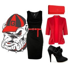Gameday attire. A wardrobe essential for a Georgia girl.