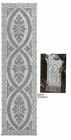Best 12 World Crochet: Crocheted Strips - Diy Crafts - Qoster Filet Crochet Charts, Crochet Cross, Crochet Art, Thread Crochet, Crochet Motif, Crochet Designs, Crochet Doilies, Crochet Stitches, Crochet Patterns