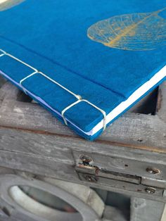 Handbound Journal/Notebook Japanese Stab by LevinaCreations, $16.00