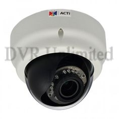 E65 ACTI 3MP Indoor Dome with D/N, IR, Superior WDR, Vari-focal lens