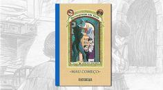 Mau Começo é o primeiro dos 13 livros da série Desventuras em Série, que conta todos os infortúnios dos irmãos Baudelaire. Klaus, Sunny e Violet, os protagonistas da história...