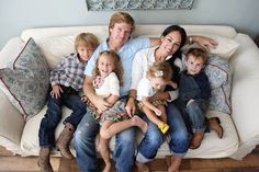 Chip And Joanna Gaines and their kids. What a great example of successful people living their faith!