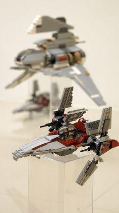 V-wing #flickr #LEGO #StarWars