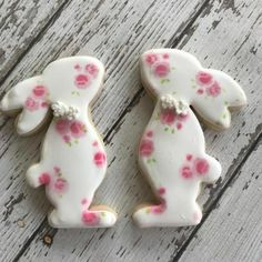 New Ideas cupcakes easter bunny frostings Iced Cookies, Cute Cookies, Royal Icing Cookies, Cookies Et Biscuits, Cupcake Cookies, Sugar Cookies, Easter Biscuits, Easter Cupcakes, Easter Cookies