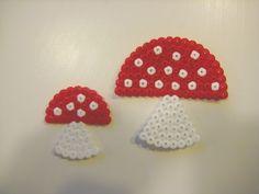 Mushrooms hama perler beads