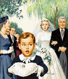 If that bee stings the ring-bearer on the ear (and it is likely), the perfect wedding ceremony is going to go south. But then there are true  stories of worse things happening at weddings...by Arthur Sarnoff.