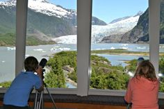 Mendenhall Glacier Visitor Center, Juneau, AK. Photo credit: Kristi Marcelle.