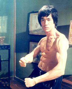 V: Bruce Lee is a role model of mine. I admire him for his skill and artistry in kung fu and for his speed. One day I will be as quick as he. Bruce is a constant inspiration for me in my training.