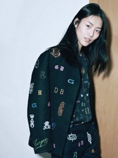 odaro:  liu wen for fashion week style by ward ivan rafik