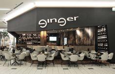 Kavarna Ginger Europark Café Maribor, Slovenia - Elephant chair #cafedesign #cafefurniture #furniturecafe #furniture #furnituredesign #elephantchair