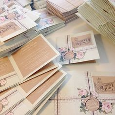 We always love Lucy Ledger's stationery