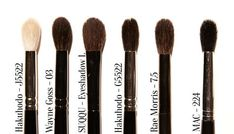 Japanese Brush Starter Kit – Eye Brushes. Chikuhodo, Hakuhodo, SUQQU, Rae Morris & more widely available makeup brushes.