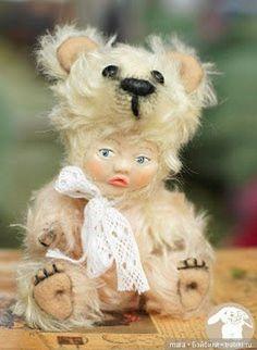 Выкройка игрушки, Тедди Долл. Автор не указан почему-то. Если подскажете, я добавлю.