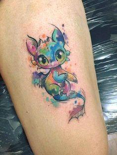 Tattoo Ideas For Guys Calf Tatoo Ideas Toothless Tattoo, Toothless Drawing, Tattoo Drawings, Body Art Tattoos, New Tattoos, Tatoos, Tattoo Art, Tattoo Quotes, Disney Tattoos