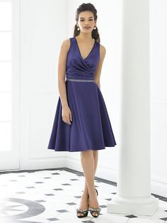 After Six Bridesmaid Style 6647  #purple #bridesmaid #dress