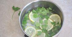 Parsley Lemon DIY Air Freshener to Get Rid of Kitchen Smells