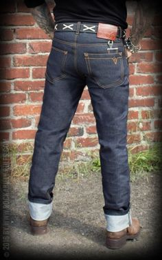 Rumble59 - Raw Selvage Denim - Wrecking Wrench