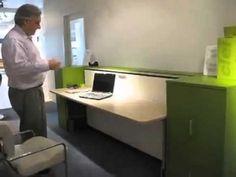 Muebles versátiles para departamentos pequeños - YouTube