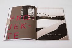 UBM annual report 2013 by Projektagentur Weixelbaumer, via Behance Behance, Projects, Log Projects, Blue Prints